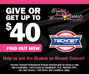 Brakes for Breast Promotion